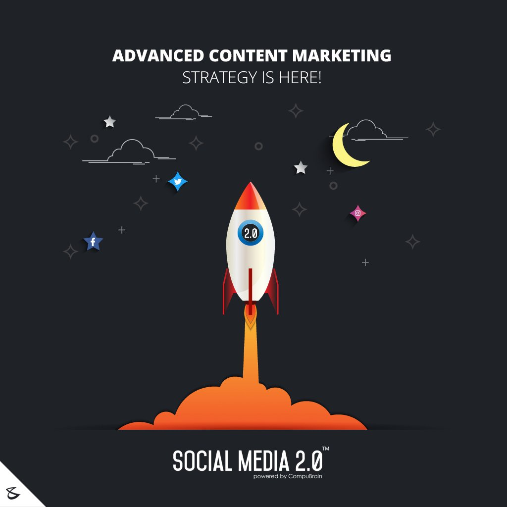 Advanced #contentmarketing strategy is here!  #Business #Technology #Innovations #CompuBrain https://t.co/jOweTtupkD
