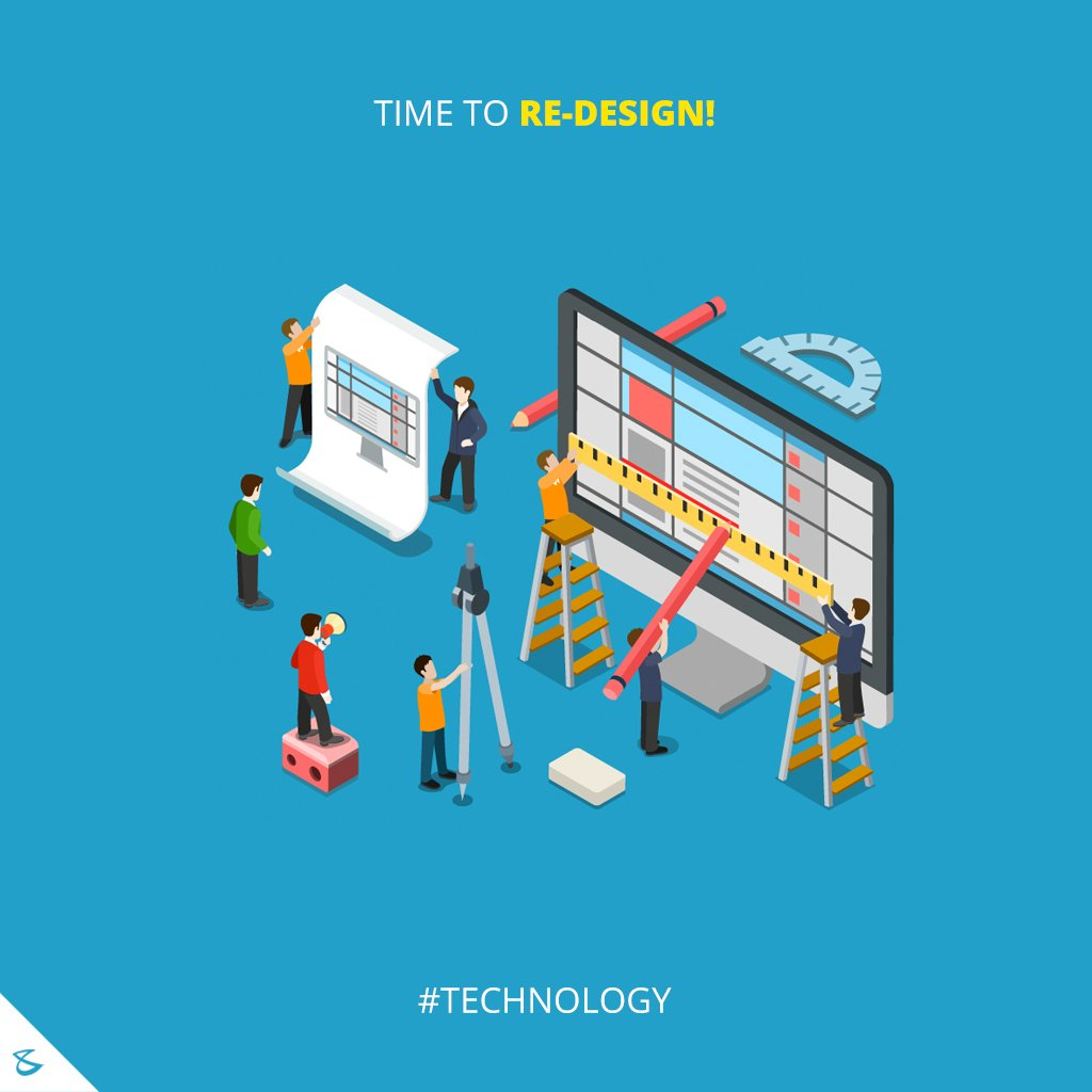 Time to Re-Design! #Business #Technology #Innovations #WebsiteRedesign #WebsiteDesigningInAhmedabad https://t.co/kEiUEZoGG1