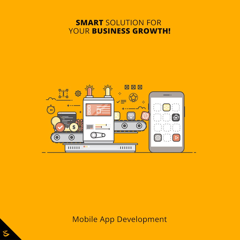 Smart solution for your business growth!  #MobileApplications #Business #Technology #Innovations #CompuBrain https://t.co/eS33S7nSnd