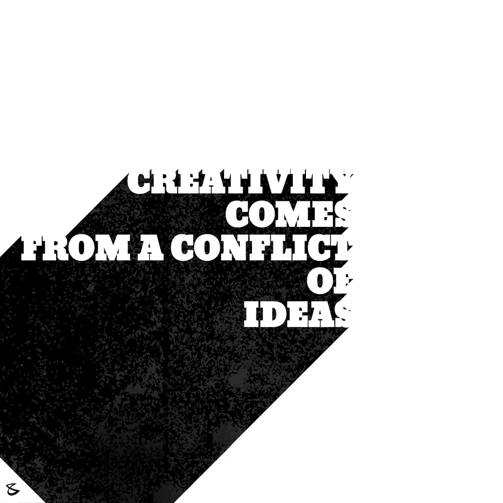 #Creativity comes from a conflict of **I D E A S** #CompuBrain #Business #Technology #Innovations https://t.co/vGQnMalIOE