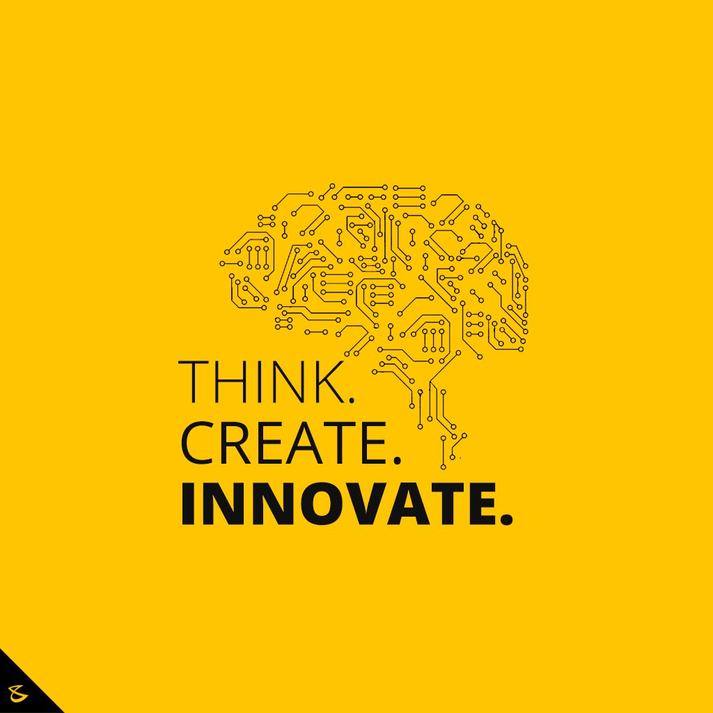 T H I N K. C R E A T E. I N N O V A TE  #CompuBrain #Business #Technology #Innovations https://t.co/LMrWMGDSbI