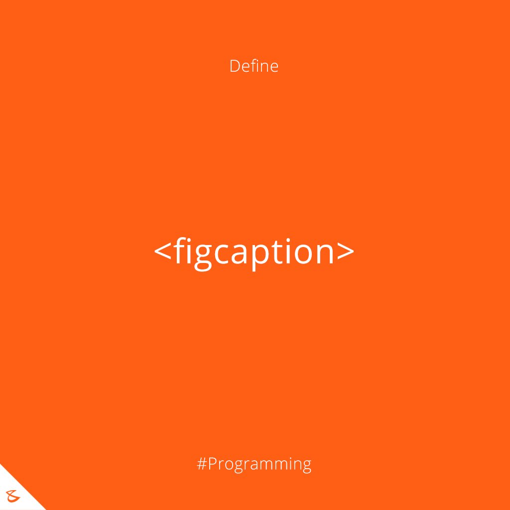 Can you define <figcaption> tag?  #Business #Technology #Innovations #CompuBrain #Programming https://t.co/Fzro0gzVVt